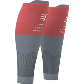 Compressport R2V2 Kuitmouwen, coral